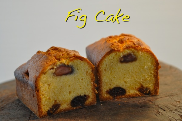 Dried fig cakes recipes