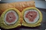 Fresh Fig Roll Cake