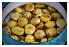 Syruped Chestnuts - 1