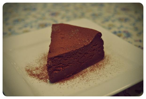 Mascarpone Bitter Chocolate Cake | マスカルポーネ・ビターチョコレートケーキ