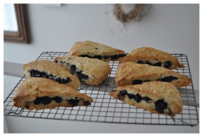 Starbucks Copycat Blueberry Scone | スターバックスブルーベリースコーン