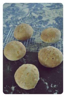 Baked Sweet Corn Buns