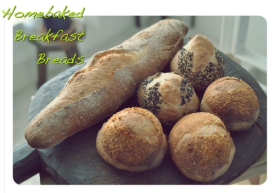 Assortment of French Breads