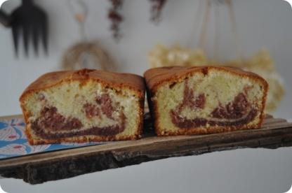 Stawberry Marble Cake |苺マーブルケーキ