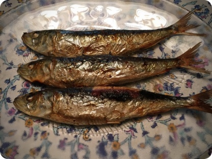 Grilled Sundried Salted Pacific Herring