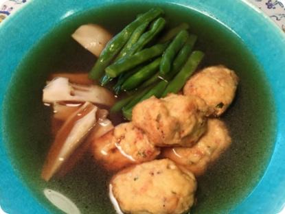 Stewed Tofu (Ganmodoki), Lotus, String Beans