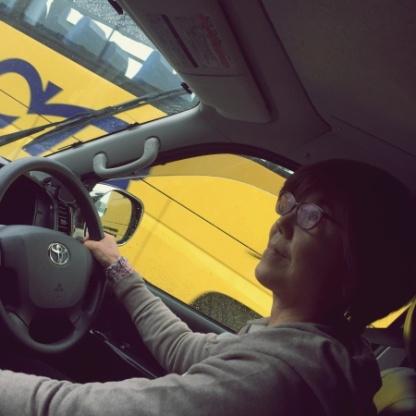 Feeling like a truck driver.