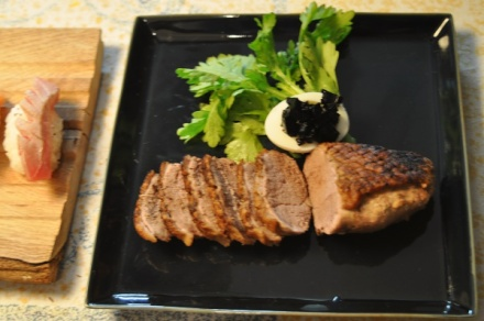 #Duck Steak